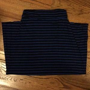 J.Crew Striped Maxi Skirt